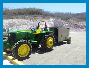 Tractor + Power Pack KmB.8u